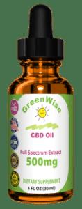 500 Mg Full Spectrum CBD Oil for sale
