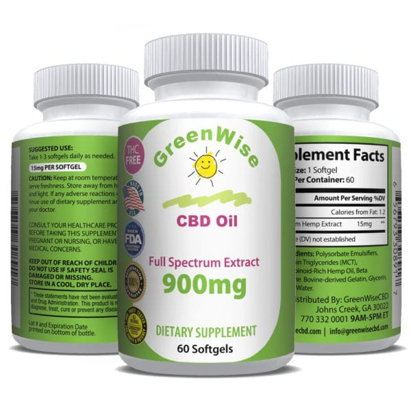 GreenWise-CBD-Softgels-900-Mg